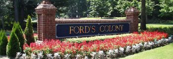 Ford's Colony 1st Major Client